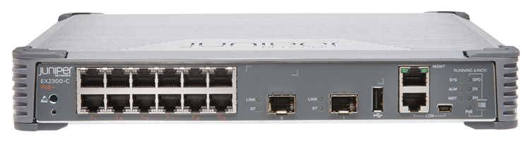Juniper Networks EX2300-C-12P-VC Ethernet Switch