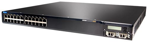 Juniper Networks EX3200-24T-DC Ethernet Switch trái góc