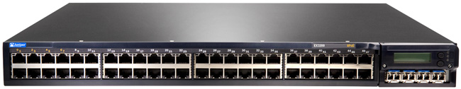 Juniper Networks EX3200-48T-DC Ethernet Switch