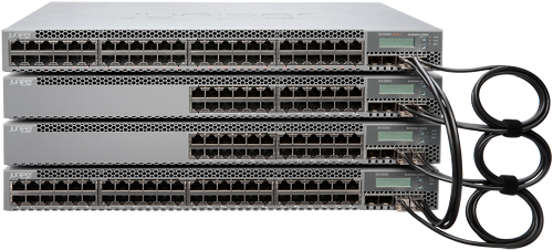 EX3300 Virtual Chassis connections
