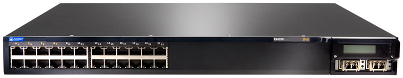 Juniper Networks EX4200-24T Ethernet Switch with Virtual Chassis Technology