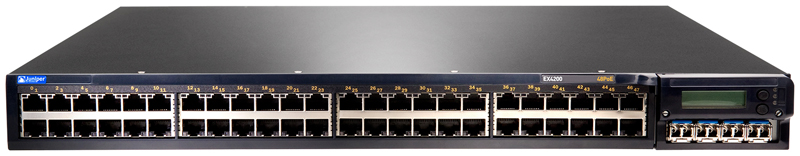 Juniper Networks EX4200-48P Ethernet Switch with Virtual Chassis Technology