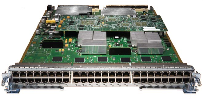Juniper Networks EX8200-48TL/48PL Ethernet Line Card