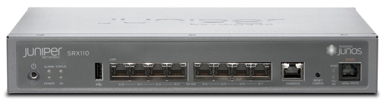 Juniper Networks SRX110 Services Gateway for the Branch