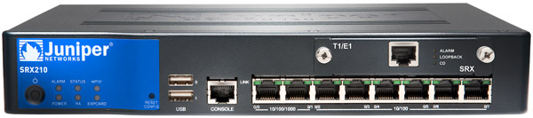 Juniper networks srx650 services gateway for the branch.