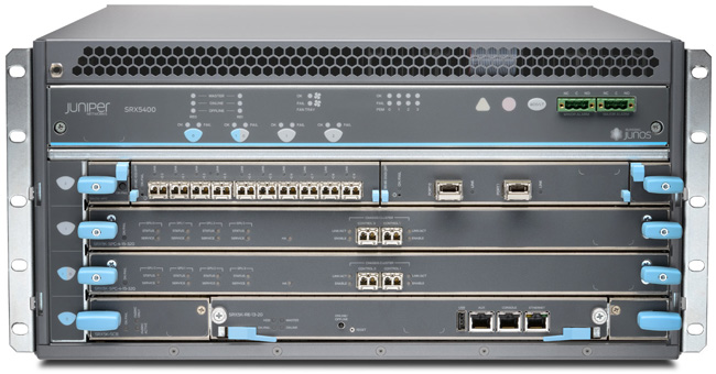 Juniper Networks SRX5400 Services Gateway | NetworkScreen.com