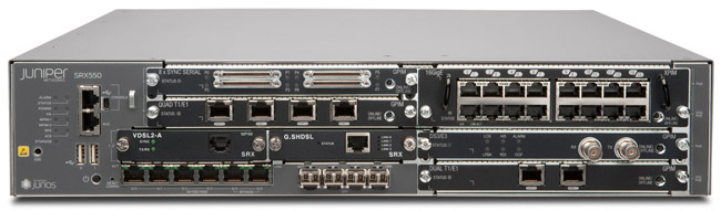 Juniper Networks SRX550 Services Gateway for the Branch