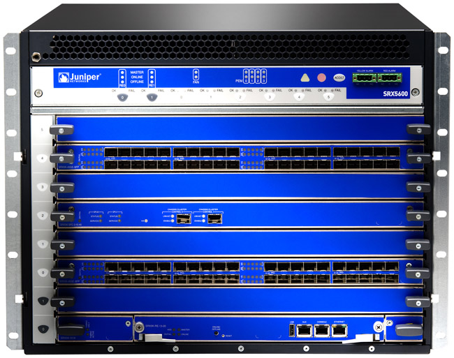 Juniper Networks SRX5600 Services Gateway | NetworkScreen.com
