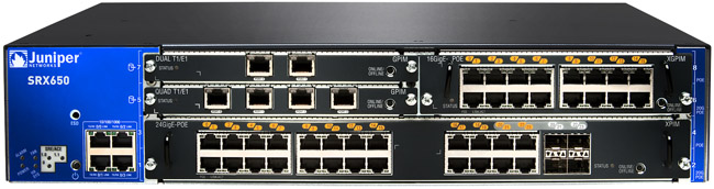 Juniper Networks SRX650 Services Gateway